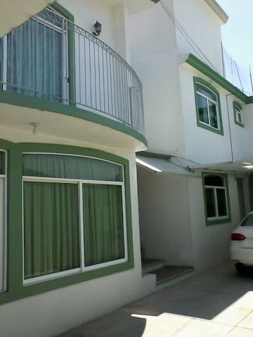 casa excelente para disfrutar y descansar - Tlaxcala de Xicohténcatl - Haus