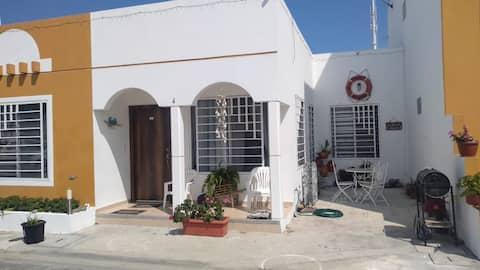 Casa Vacacional, Vía Punta Carnero