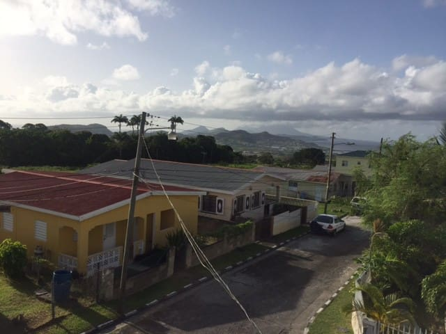Monkey hill apartment, St. Peter's - Basseterre - Apartment