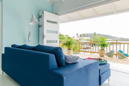 Private, relaxed beachhouse & beach - Willemstad