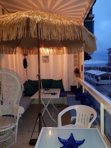 Appartement de charme CV valras plage vue sur mer