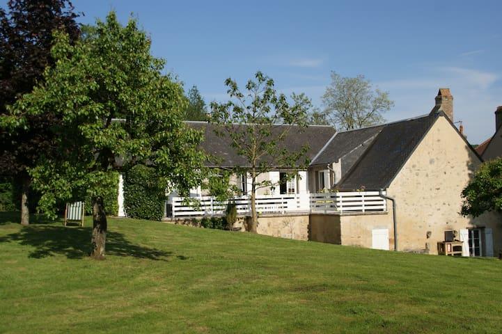 Charmante Maison Morvandelle - La Lézardière