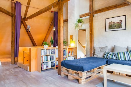 Cozy loft in charming neighborhood - Oslo