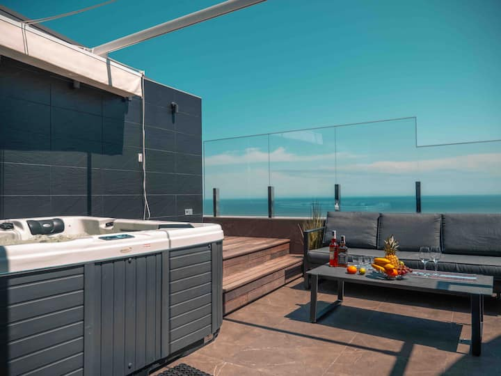 Arcadiya Party penthouse-Sea view, 2 teracces