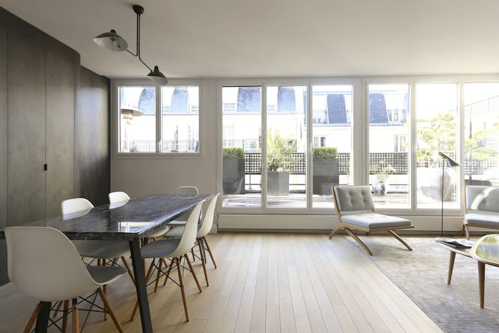 Luxury apartment 3 bedrooms terrace