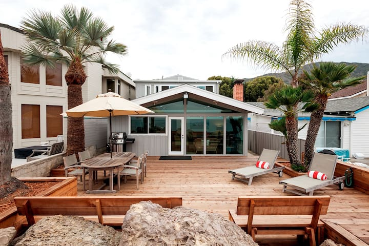 Stylish Beachfront Bungalow California Classic - Ventura