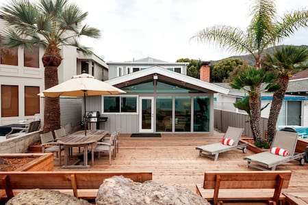 Stylish Beachfront Bungalow California Classic - Ventura - Dom