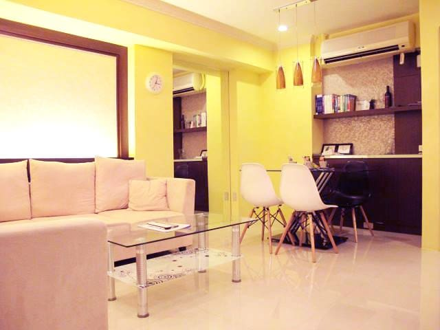 English OK! Walk 3 mins to MRT Sangchong Station!! - Sanchong District - Appartement