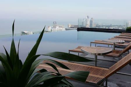 Seaview 1b1b @ Pattaya City Center - 芭達雅