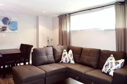 Beautiful, Newly Renovated, Cozy 2BR basement apt!