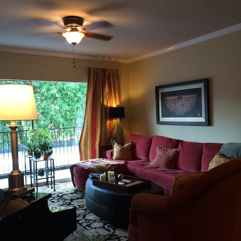 Private luxury bedroom/bath in gated community