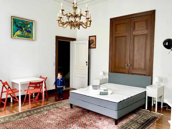 The double room nearby the heart of Brussels