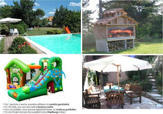Holiday home Ca Piero for 20 people - Urbino - บ้าน