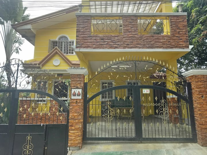 Spacious fully furnished house with videoke