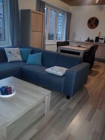 Knus appartement, aangename buurt