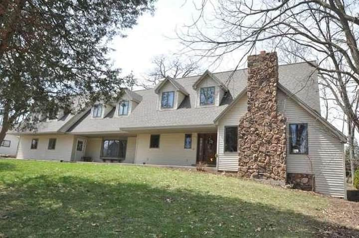 Large Lake Country home suited well for families