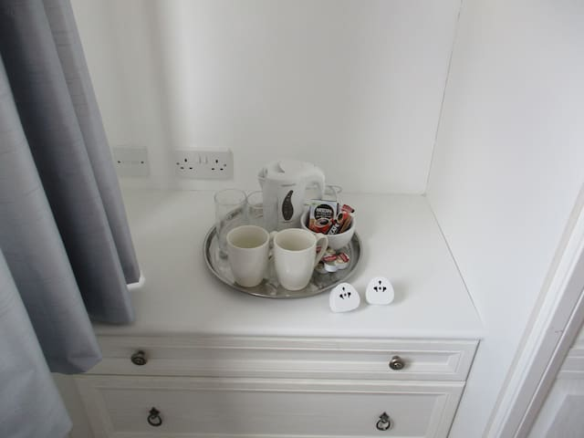 Tea and coffee making in your room