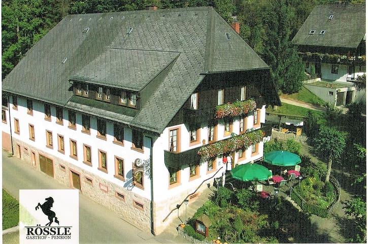Das Goldene Rössle- Gästehaus | Pension - Triberg - ที่พักพร้อมอาหารเช้า