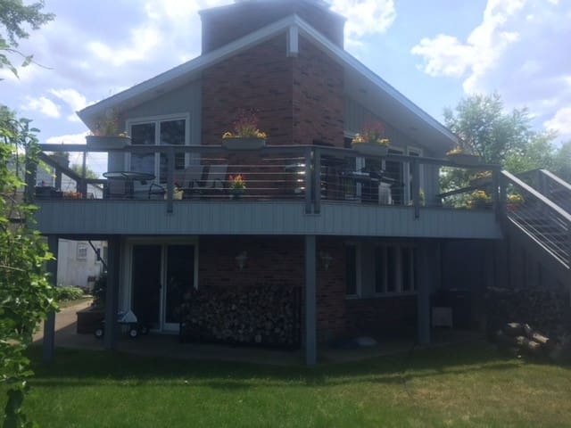 Harbor House on Lake Ontario - Burt - Casa