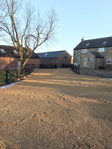 Holywell Grange Farm [only 2 mls from Whitley Bay]