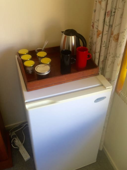 Tea and coffee making facilities in your room
