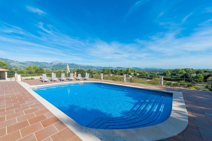 SOLIVAR (CORRITX 2) - Villa with private pool in Selva. Free WiFi