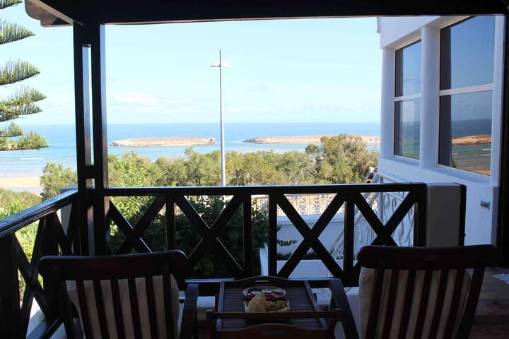 Belle villa vue sur mer Oualidia
