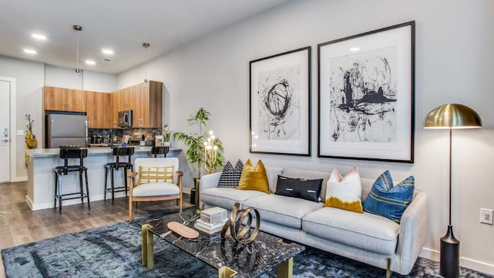 Lux 1BD in downtown Fort Worth, fitness center