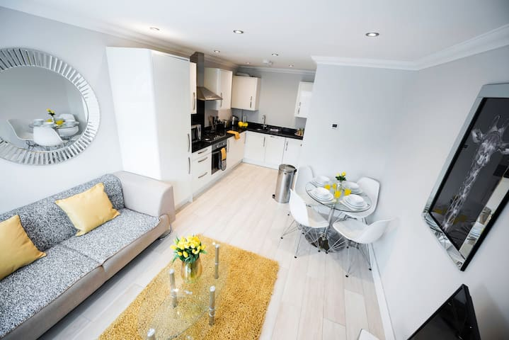 Modern Two Bedroom Apartment in Central Reading