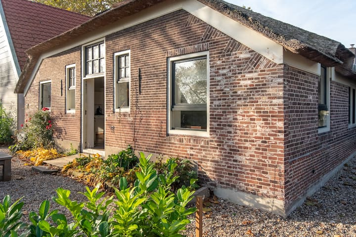 Luxury Farmhouse garden, 5 km to Amsterdam, 145 m2
