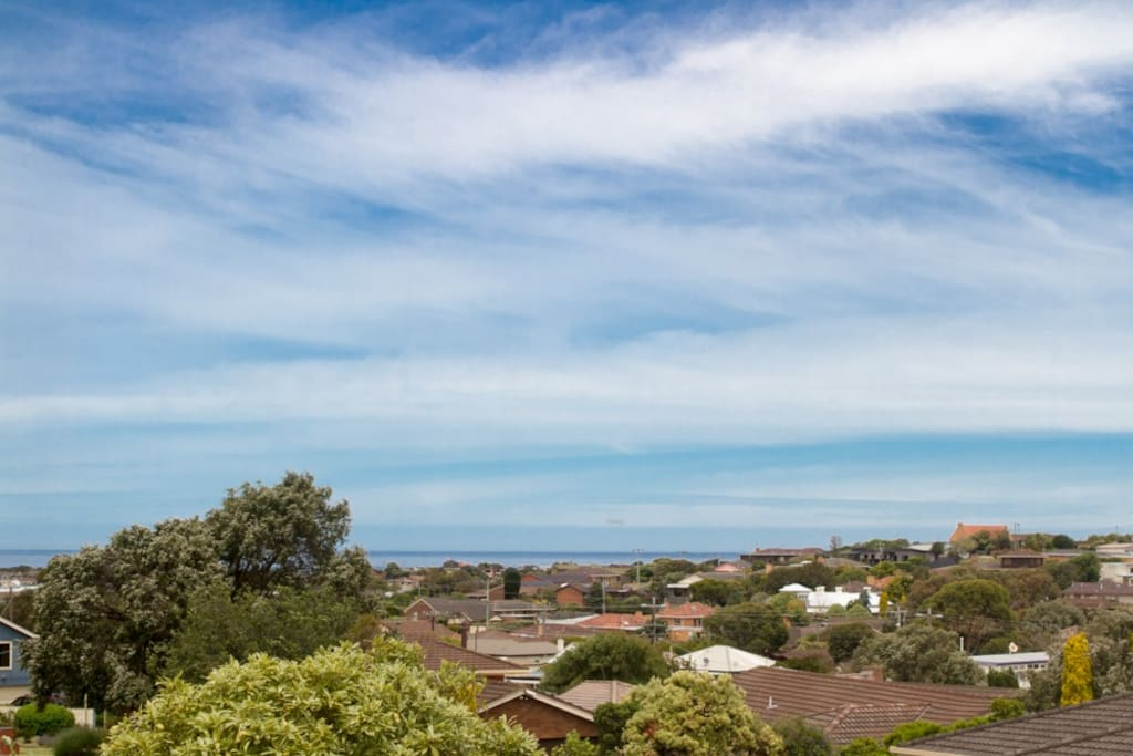 Lovely views over Warrnambool from upstairs bedroom