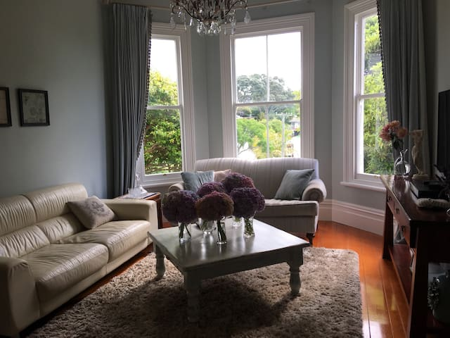 Herne Bay Family Home with Pool - Auckland - Casa