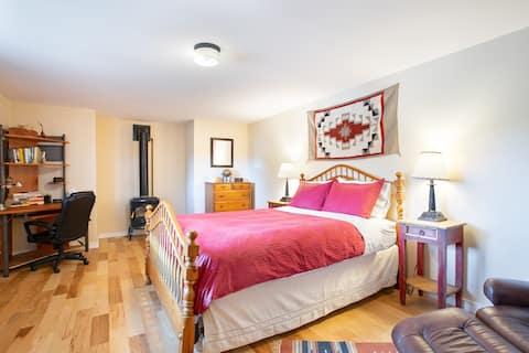 Lägenhet i två plan, Fullt utrustat kök, Privat
