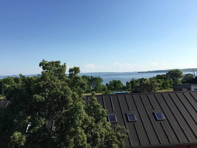 3 vær øverst - terrasse - fjordudsigt - Thisted - Wohnung