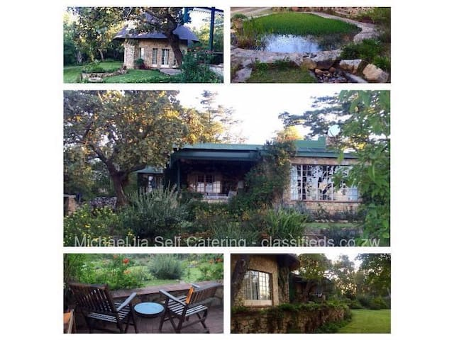 Msasa cottages 3 self catering lodges $150,130&120