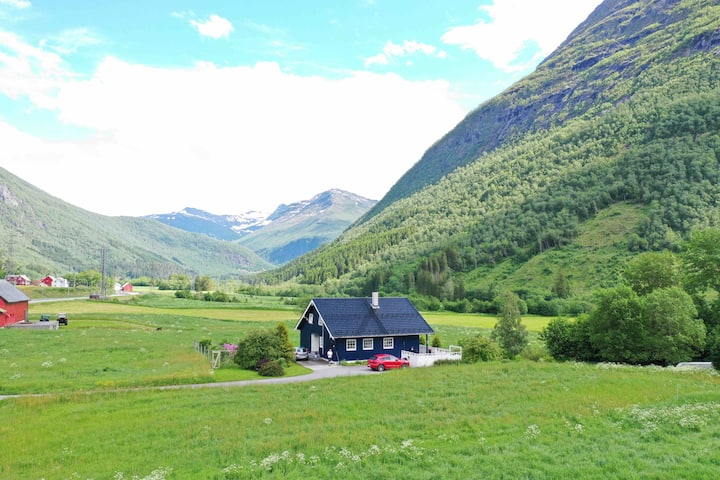 "Stordal, Risvoll Bed and breakfast, room ""Fjord"""
