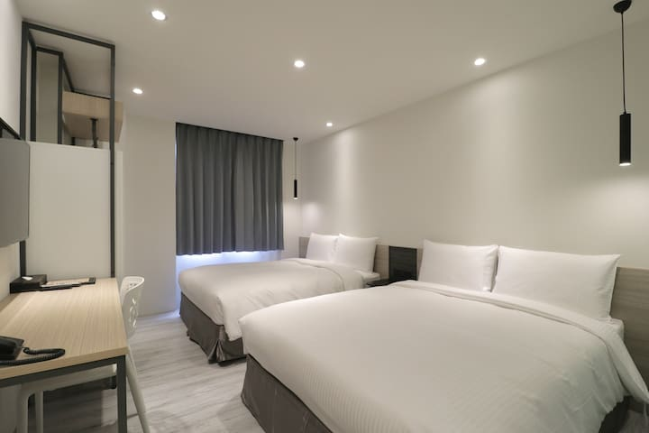 Green Hotel Chiayi - Quad room