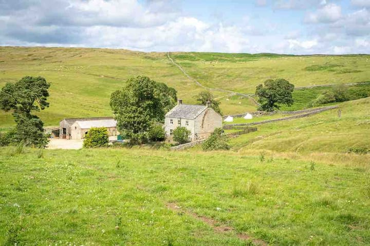 The Curlew, Luxury Farmhouse Ensuite B&B Otterburn