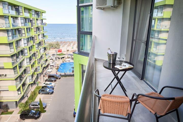 Azur Apartment 109 Spa n Pool ALEZZI Beach resort