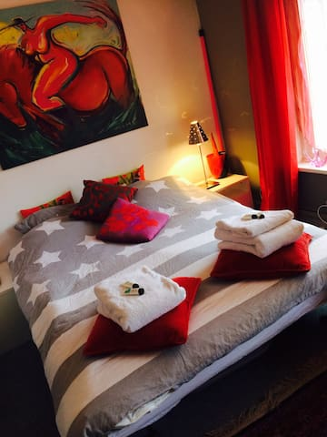 Attractive room in centre Tilburg - Tilbourg - Maison