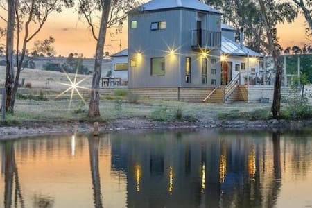Whispering Gums - Organic Farm Retreat - Yandoit - Casa
