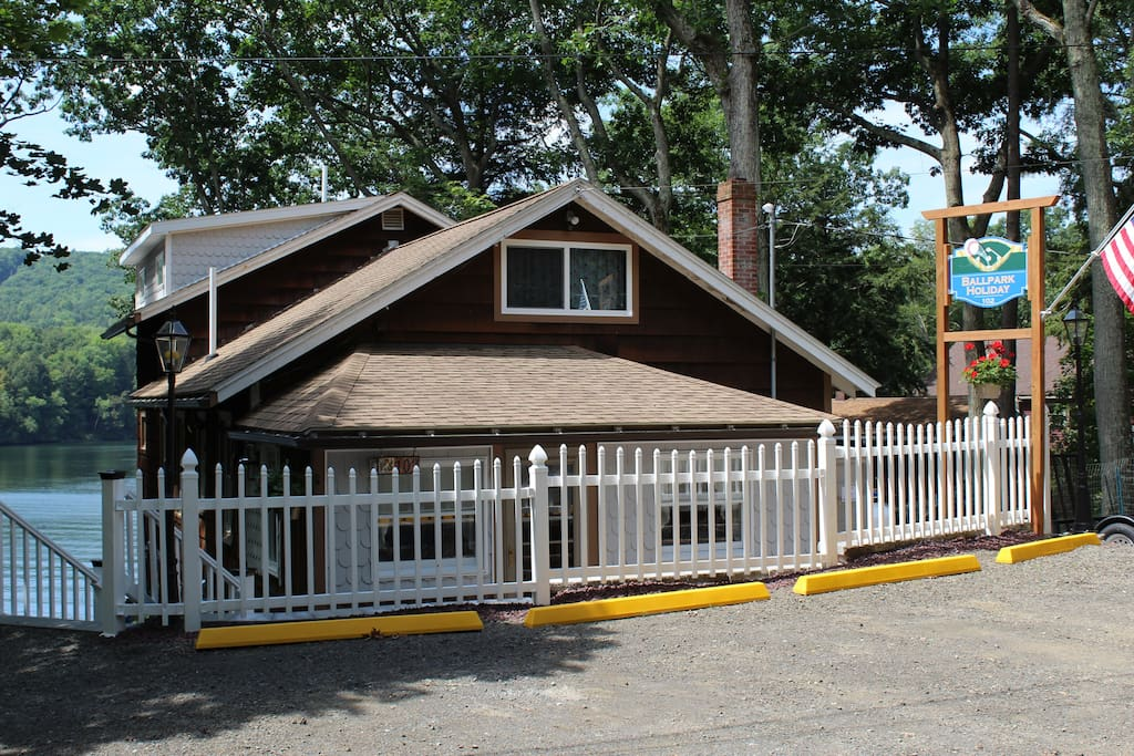 Cooperstown Baseball Rentals - Ballpark Holiday is a 5 bedroom, 3 bathroom home located on Goodyear Lake!