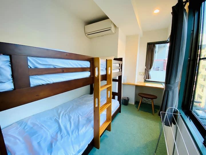 ASAKUSA 5mins/PrivateTwin room/Newly built/Chilax/