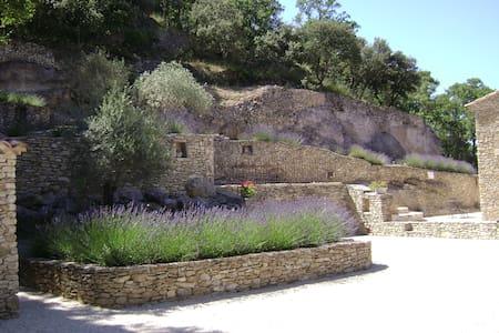 Villa en pierre séche au Le Beaucet - Le Beaucet - Vila