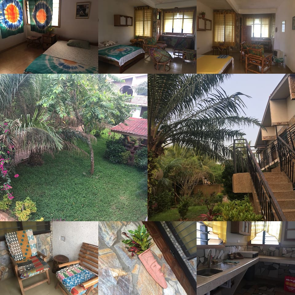 Collage of indoor and outdoor spaces! All WiFi accessible!