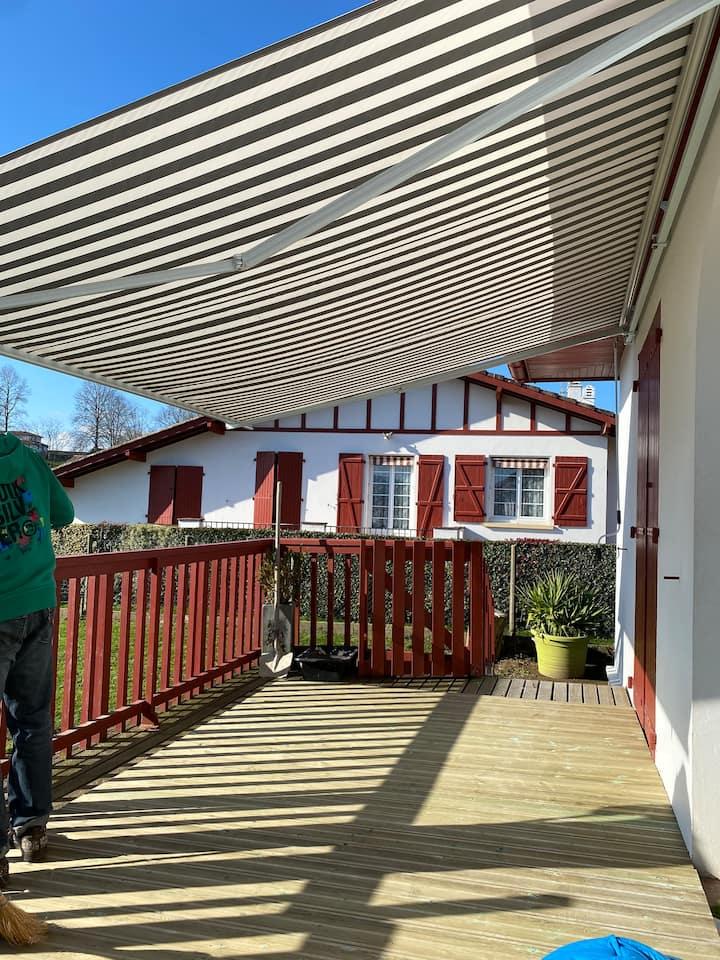 Petit maison au cœur d'un village basque