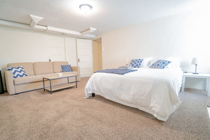 Comfy Lower Suite in Congress Park!