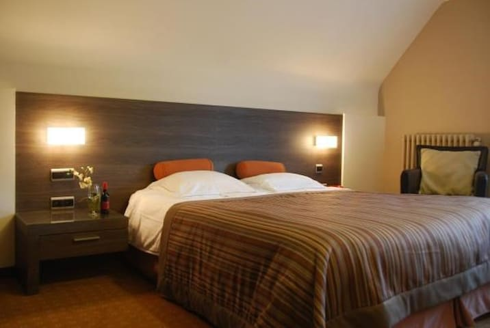 Deluxe double room on the first floor