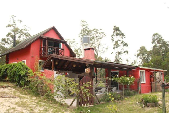 """Casa """"EL LABERINTO"""" del Bosque, LA ESMERALDA"""