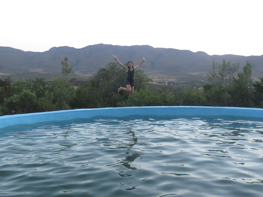 Swimming Pool in the mountain (not close to the units - 15 minute hiking trail)